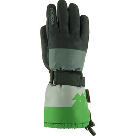 Roeckl Arlberg Ski Gloves Jungs black/green